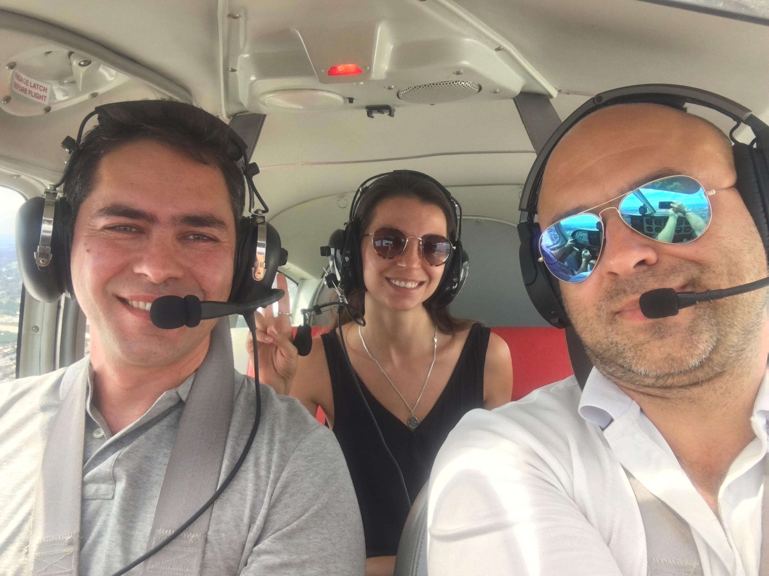 Our pilot!